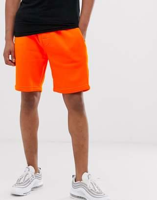 Brave Soul neon sweat shorts