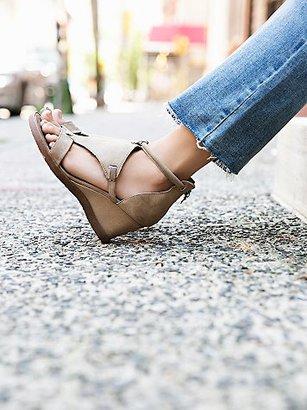 Bonita Wedge Sandal by Miz Mooz at Free People $150 thestylecure.com