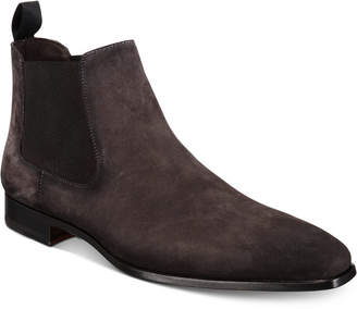 Massimo Emporio Men's Suede Chelsea Boots