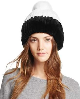 Maximilian Furs Rabbit Fur Hat - 100% Exclusive