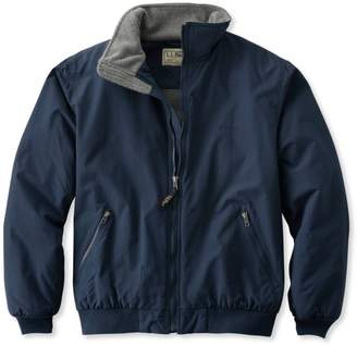 L.L. Bean L.L.Bean Warm-Up Jacket, Fleece Lined