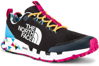 The North Face Black Spreva 90's Sneaker in TNF Black & Aquarius | FWRD