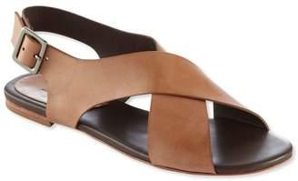L.L. Bean L.L.Bean Signature Leather Cross-Strap Sandals