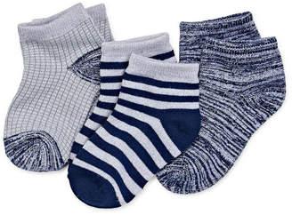 Cuddl Duds 3 Pair Low Cut Socks