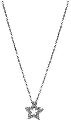 Roberto Coin Tiny Treasures Diamond Star Necklace