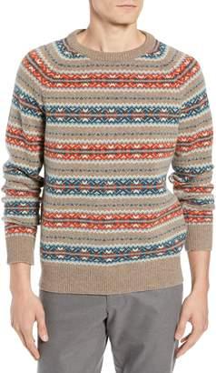 J.Crew Fair Isle Lambswool Sweater
