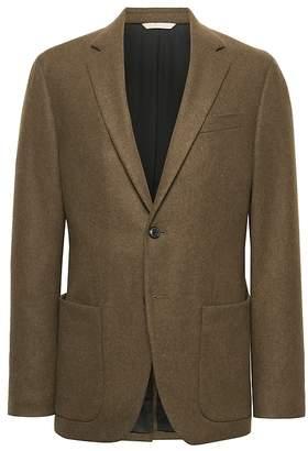 Banana Republic Heritage Slim Italian Wool Blend Blazer