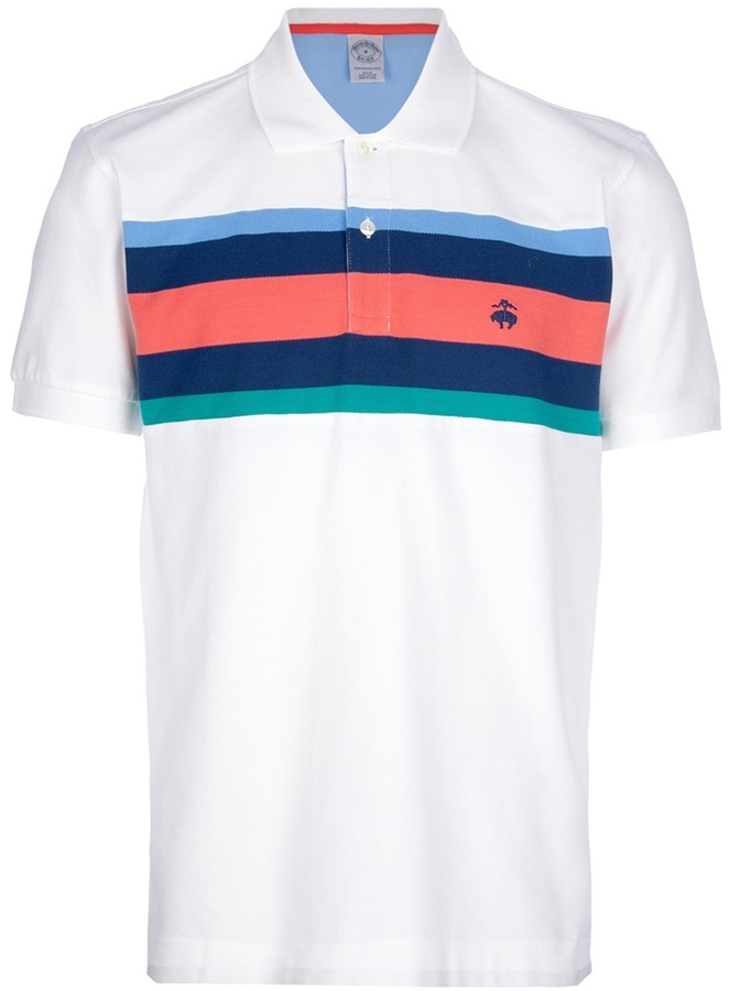 Brooks Brothers 'Resort' striped polo shirt