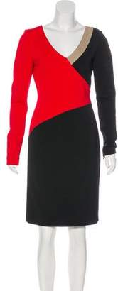 Diane von Furstenberg Colorblock Dress w/ Tags
