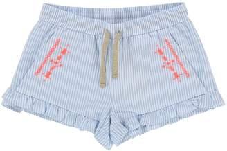 Billieblush Girls Embroidered Poplin Shorts