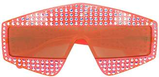 Gucci oversized crystal glasses