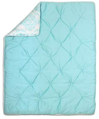 The Peanut Shell Shell Pintucked Cotton Quilt