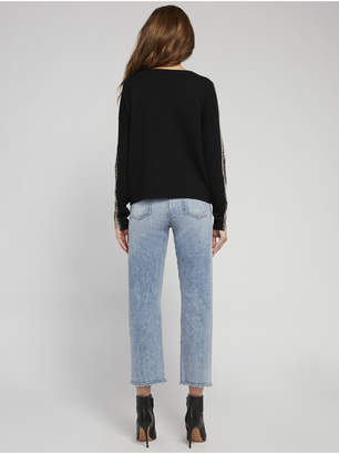 Alice + Olivia MARMONT PULLOVER WITH CHAINS