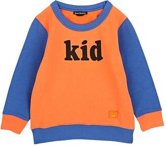 Acne Studios Kids' Kid-Print Cotton Sweatshirt