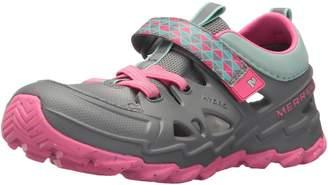 Merrell Boy's Ml-Hydro 2.0 Water Shoes, Navy/Orange