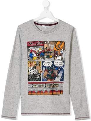 Little Marc Jacobs TEEN comics print top