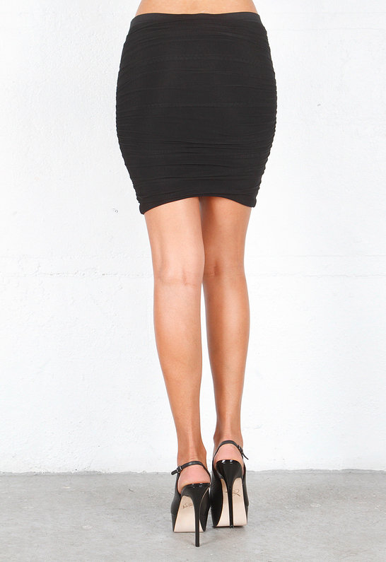 Elizabeth and James Lorenza Skirt in Black
