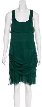 Peter Som Silk Tiered Dress