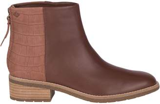Sperry Maya Belle Croco Leather Chelsea Boots