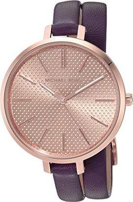 Michael Kors Women's Jaryn Purple Watch MK2576