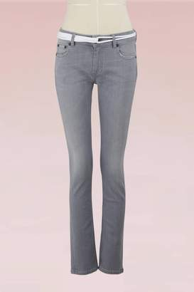 Off-White Off White Diag Strap Jeans