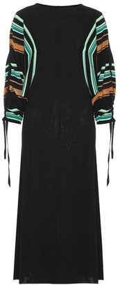 Marni Wool-blend midi dress
