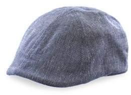 Black Brown 1826 Textured Duckbill Cap