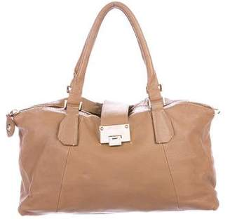 Jimmy Choo Grained Leather Tote