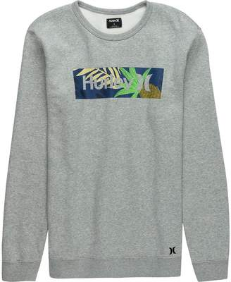 Hurley Surf Check Paradise Crew Sweatshirt - Men's