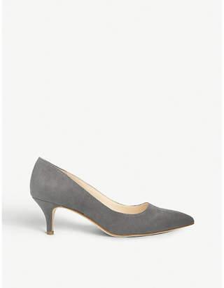 Nine West Flagship 55 faux-suede court shoes