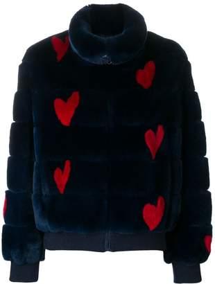 Simonetta Ravizza Dafne Hearts jacket