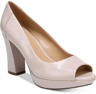 Naturalizer Amie Peep-Toe Pumps