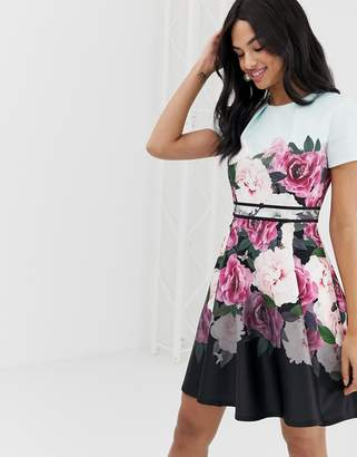 Ted Baker Wilmana magnificent floral skater dress