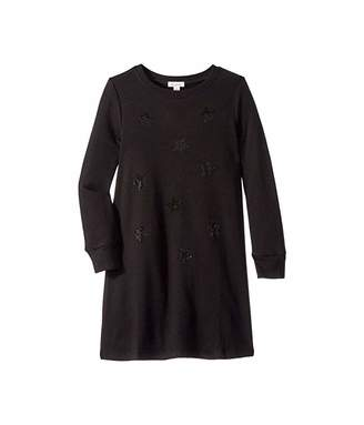 Ella Moss Rhinestone Star Sweater Dress (Big Kids)