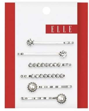 Elle Assorted Stone & Pearl Bobby Pins