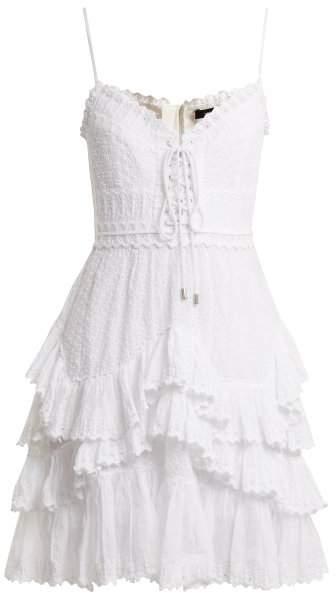 Zowie ruffle-trimmed dress