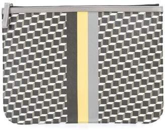 Pierre Hardy geometric clutch bag