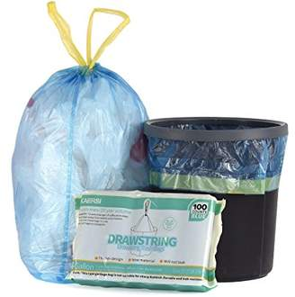 KAERSI Small Drawstring Trash Bags for Bathroom