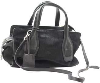 Tod's Black Fur Handbag