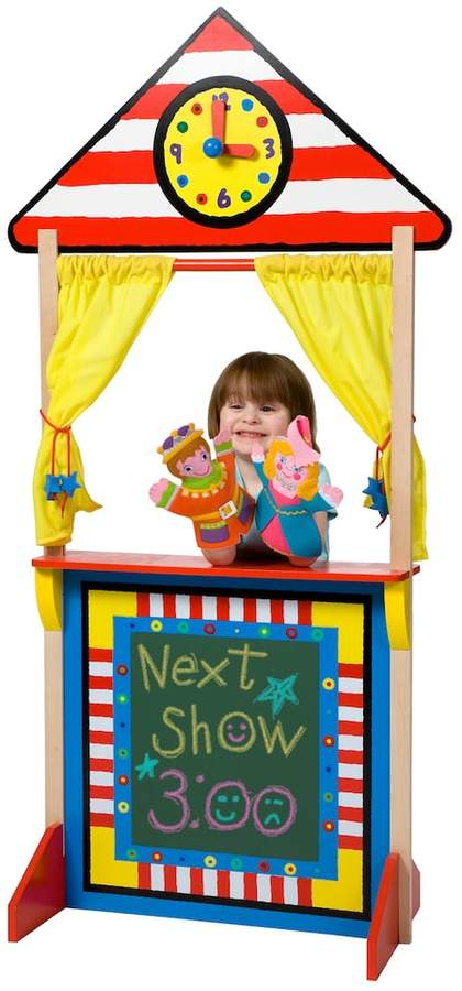 Alex ALEX Toys Floor Standing Puppet Theater & Clock