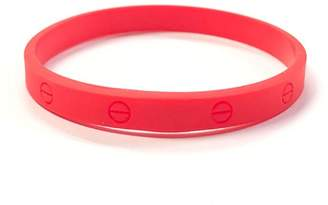 Lets Accessorize Silicone Designer-Inspired Bracelets