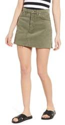 BDG Urban Outfitters Austin Cutoff Denim Miniskirt