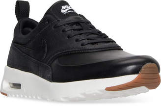 Nike Women's Air Max Thea Premium Running Sneakers from Finish Line $115 thestylecure.com