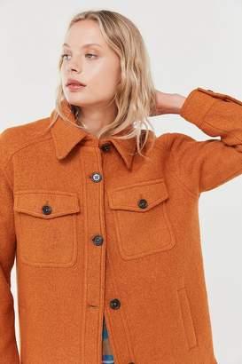 AVEC LES FILLES Boiled Wool Work Jacket