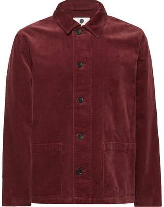 NN07 Orlando Stretch-Cotton Corduroy Overshirt