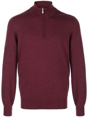 Brunello Cucinelli zip-up cashmere jumper