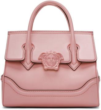 Versace Pink Medium Palazzo Empire Bag $2,320 thestylecure.com