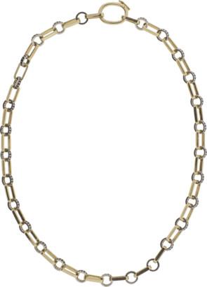 Black Diamond NANCY NEWBERG Oval Link Necklace