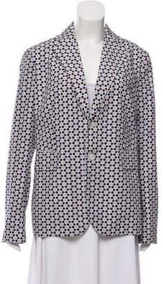 DSQUARED2 Structured Printed Blazer