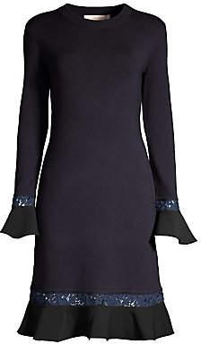 Tory Burch Women's Lace-Trim Dress
